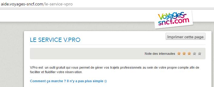 Cette page du site de site de la SNCF contient un smiley.